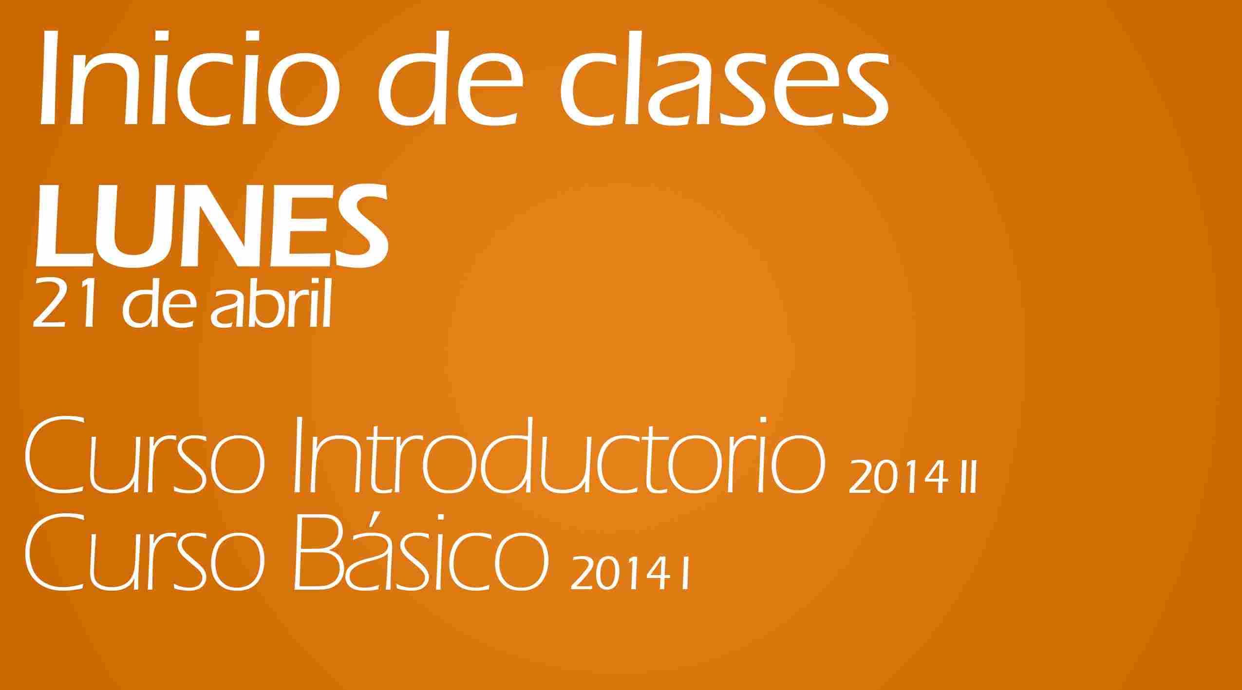 Inicio de clases CI y CB